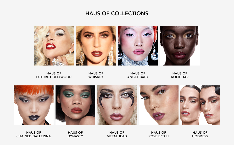 lady gaga, hauslabs, gaga, make up, gift sets, makeup kits, makeup set, makeup kit, eye makeup, lips