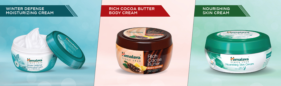Himalaya cream nourishing winter defense rich cocoa butter body cream skin cream moisturizing cream