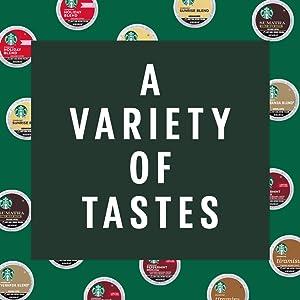 A Variety of Tastes
