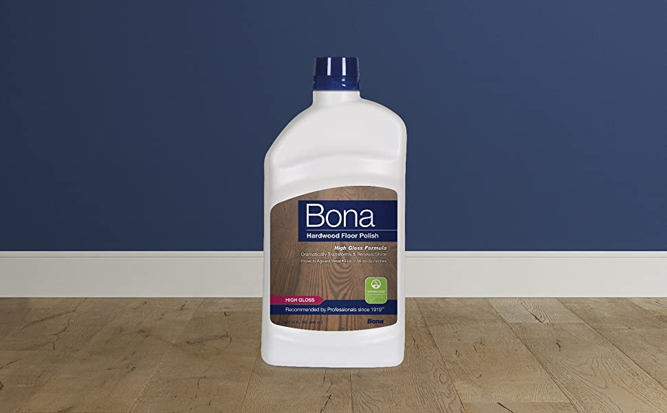 Bona Hardwood Floor Polish High Gloss Protect Shine
