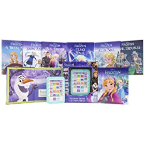 Me,reader,toy,toys,book,books,childrens,tablet,kids,kid,reader,frozen,elsa,olaf,anna,disney - Disney Frozen Elsa, Anna, Olaf, And More! - Me Reader Electronic Reader And 8-Sound Book Library – Great Alternative To Toys For Christmas - PI Kids
