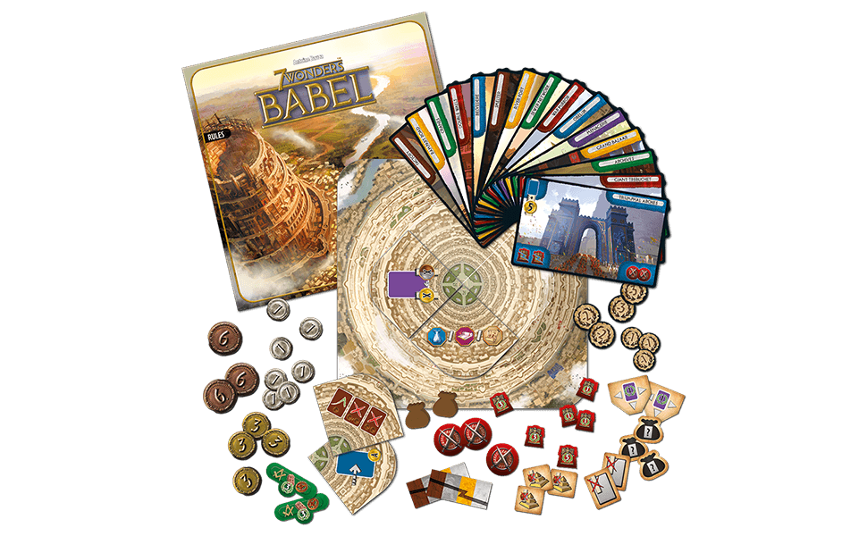 Asmodee - 7 Wonders Exp. 4: Babel (SEV05ML) , color/modelo surtido: Amazon.es: Juguetes y juegos