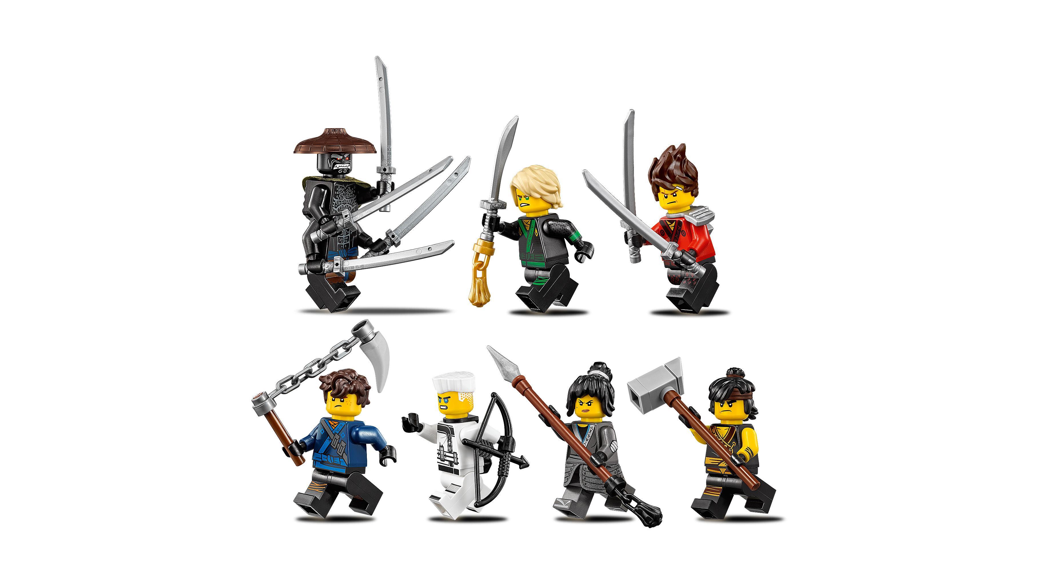Lego Ninjago- Tempio delle Armi Finali, Multicolore, 70617
