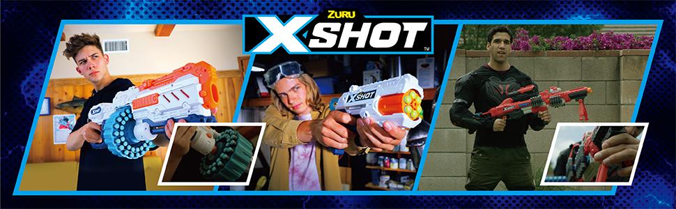 x-shot, up your game, nerf guns, best nerf guns, affordable nerf guns. turbo advance, nerf modulus
