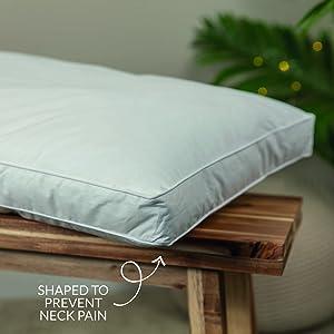 Snuggledown Back Sleeper Pillow | Side