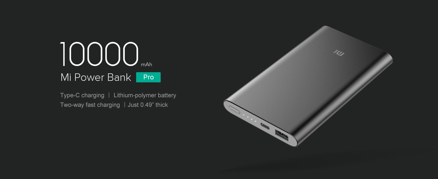 Amazon.com: Portable Charger, Xiaomi Mi Slim Power Bank