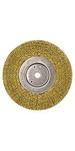Weiler 86106 Burr-Rx 2 Maximum Density Miniature Disc Brush.026//120CG Crimped Fill