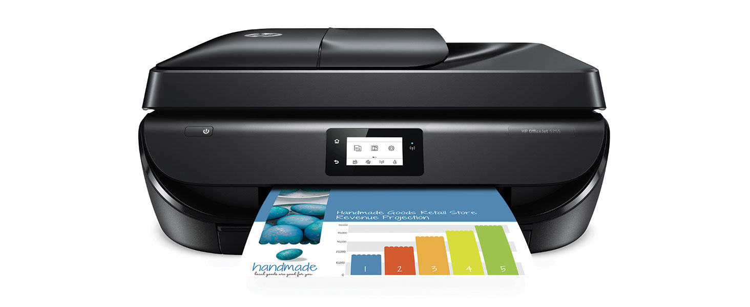 high-quality prints dual band wi-fi bluetooth smart touchscreen instant ink fast ADF