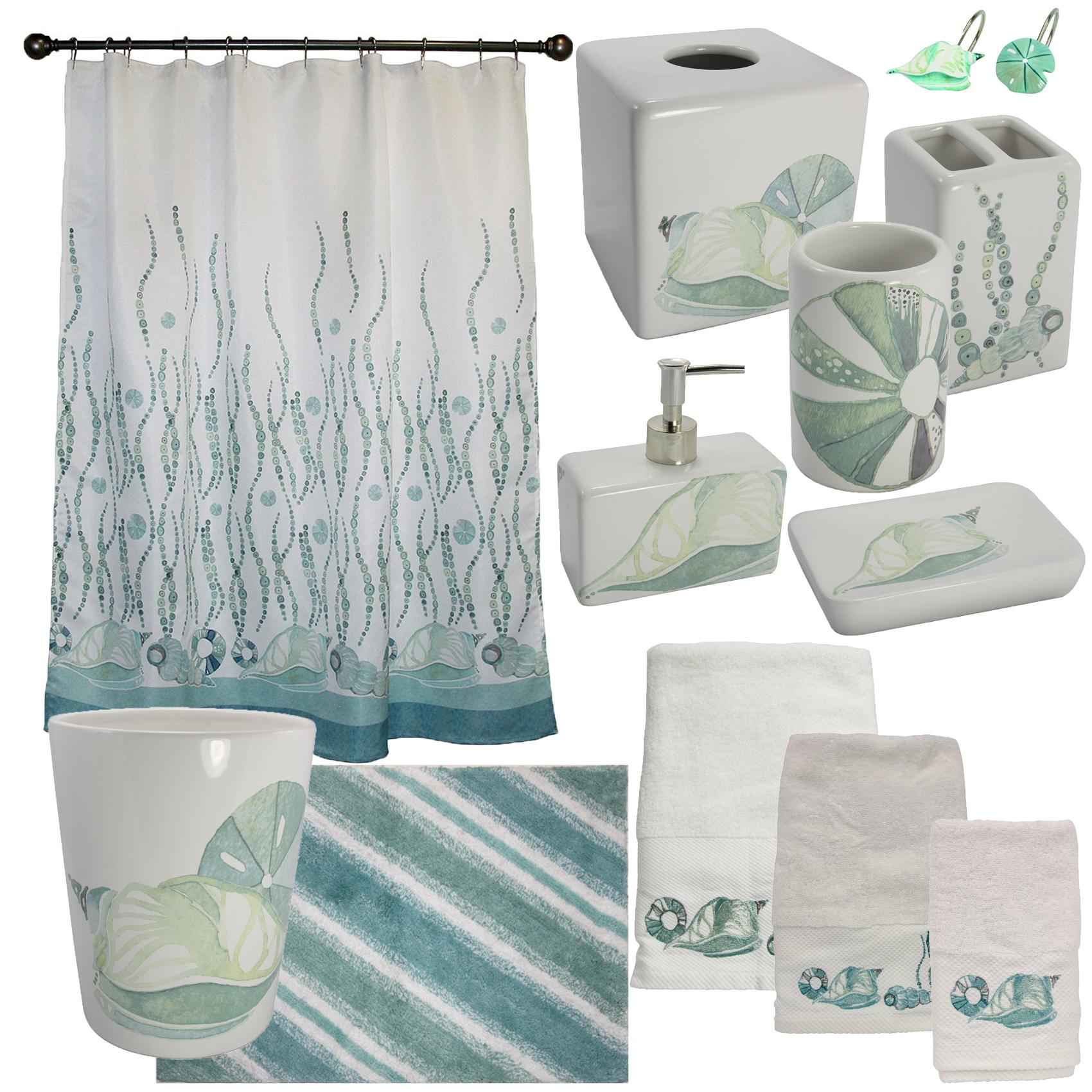 Amazon.com: Bacova Guild La Mer Bath Accessories: Home & Kitchen