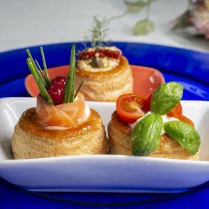 Voulevant; Voulevant e Condimento Balsamico Bianco; Acetaia Italia; Ricetta; Aperitivo; Bianco;