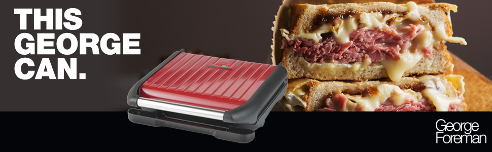 George Foreman Entertaining Seven Portion Grill
