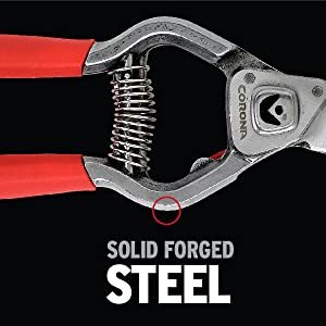 Solid Forged Steel