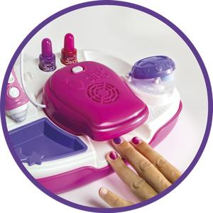 Clementoni- Crazy Chic Diseña tus uñas de luxe, Multicolor ...