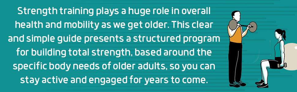 strength training over 40, strength training over 50, strength training books