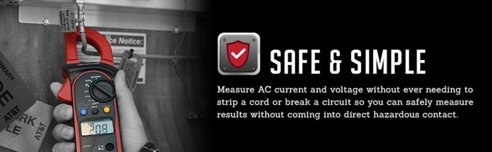 safe AC voltage meter