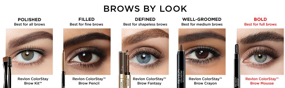 Amazon Com Revlon Colorstay Brow Mousse Blonde Beauty