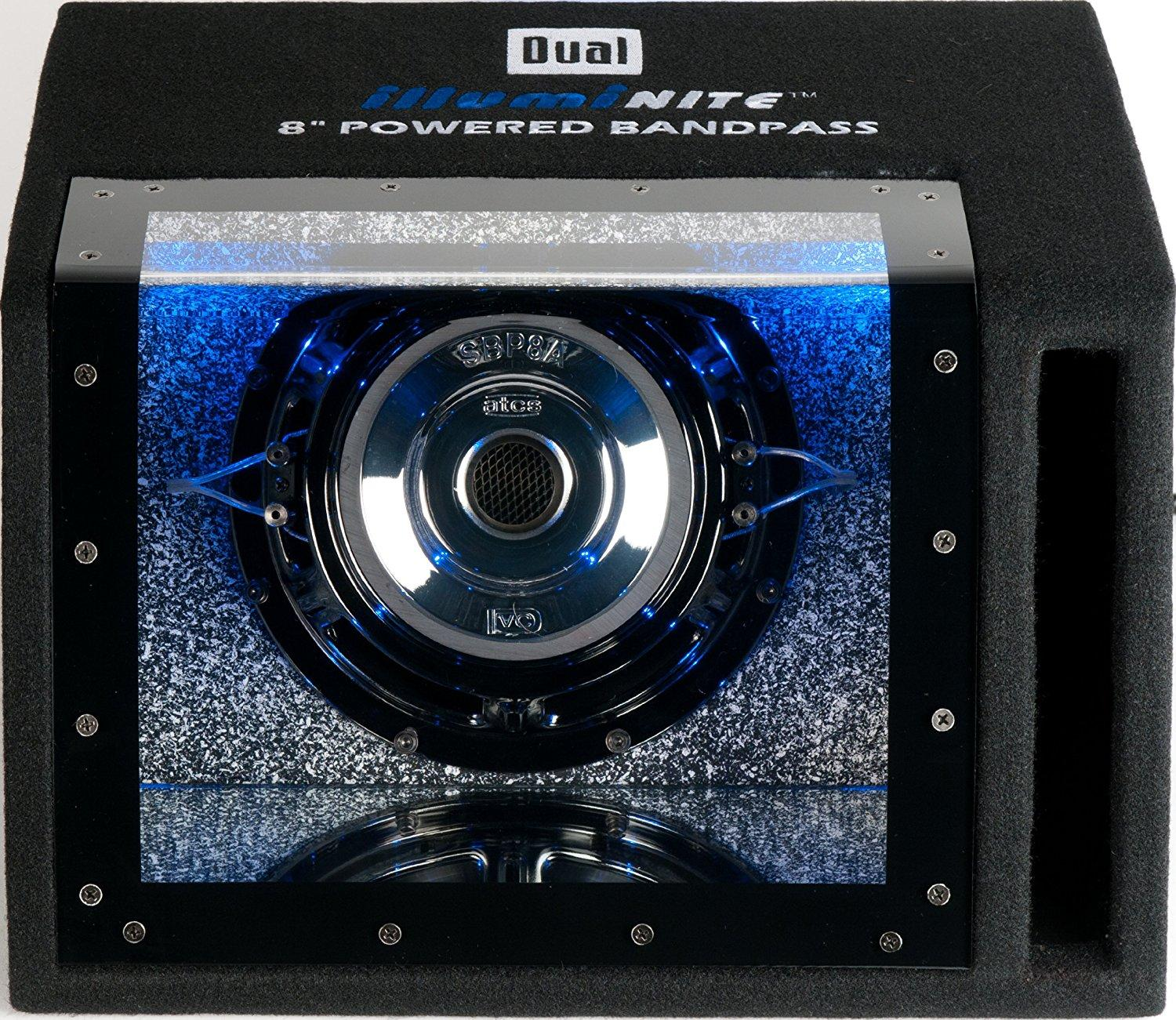 Dual Electronics Sbp8a 8 Inch Illuminite High Alpine Voice Coil Subwoofer Wiring In Addition How To Wire 2 View Larger