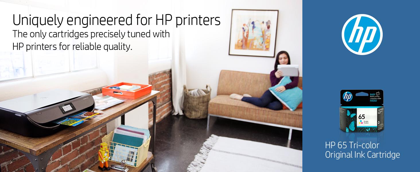 65 65XL black color tri-color xl combo pack hp ink cartridges cartridge printer Hewlett Packard