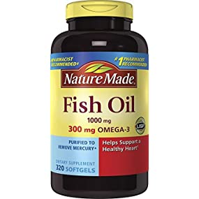 Nature Made Fish Oil 1000 mg