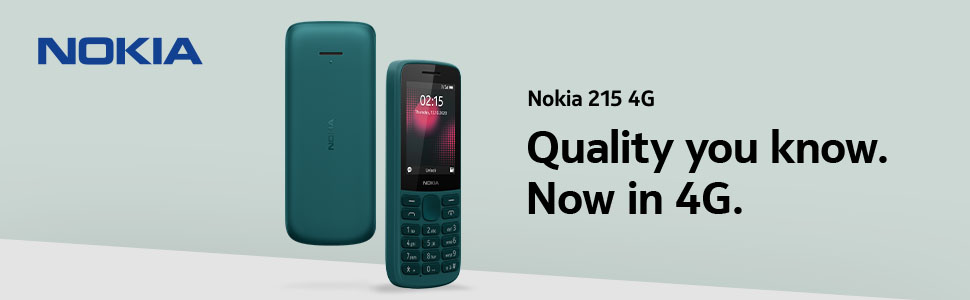 Nokia 215 4G feature phone