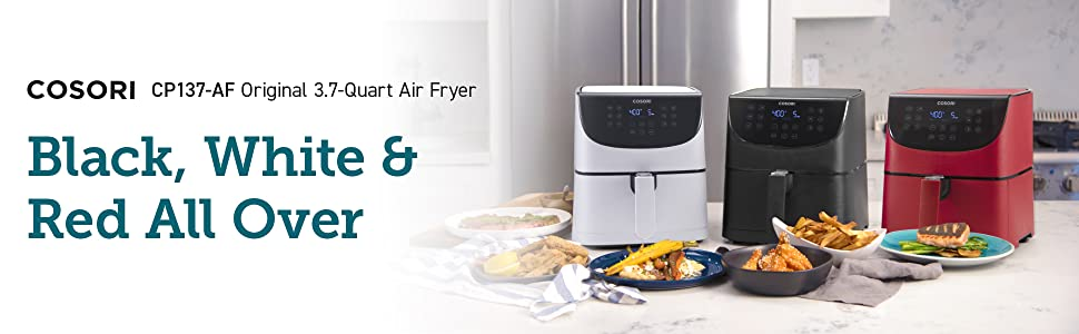 air fryer red cosori