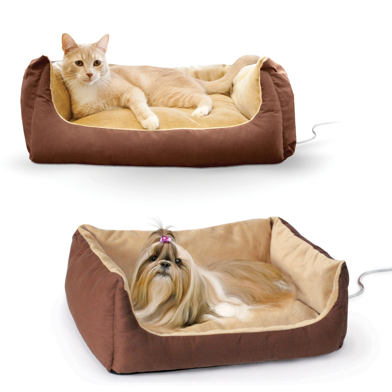 Amazon.com : K&H Pet Products Thermo-Pet Cuddle Cushion ...