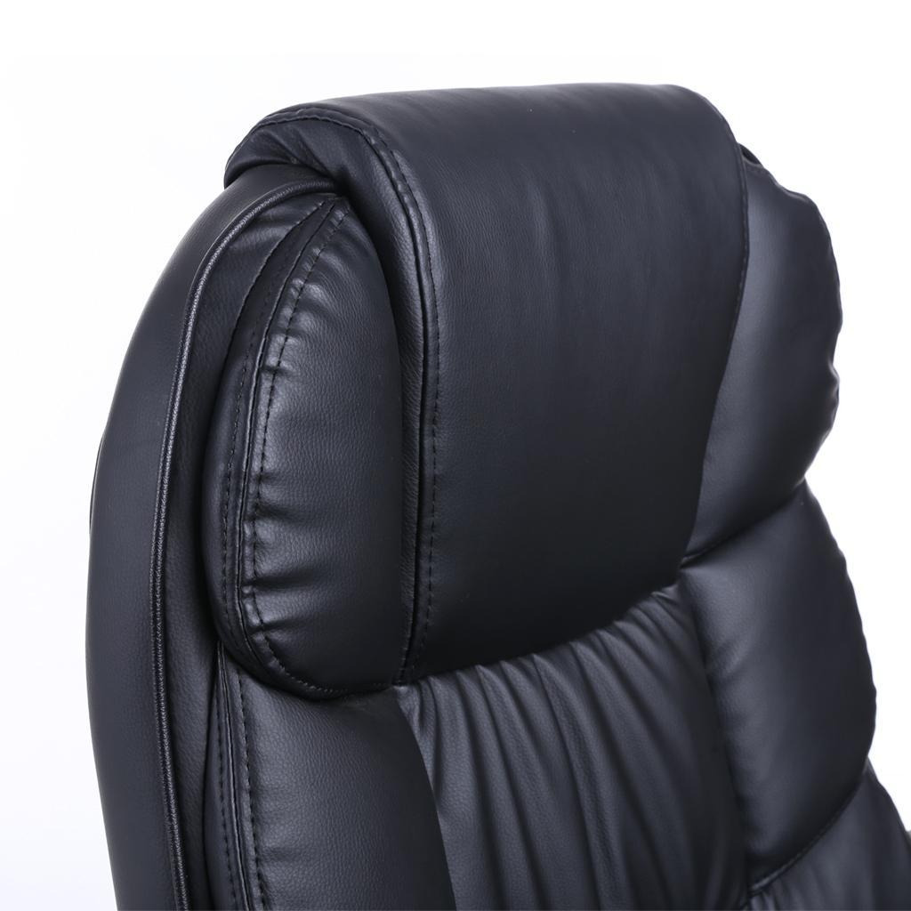 songmics b rostuhl mit hoher r ckenlehne chefsessel schreibtischstuhl h henverstellung. Black Bedroom Furniture Sets. Home Design Ideas
