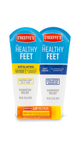 Variety Pack O'Keeffe's for Healthy Feet Lip Repair