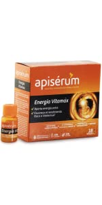 Apisérum Vitamax Viales Bebibles- Aporte de Energía Extra y ...