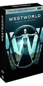 Westworld;robots;sci-fi;HBO;DVD;bonus;exclusif;robots;attaque;conscience;parc;attraction;western