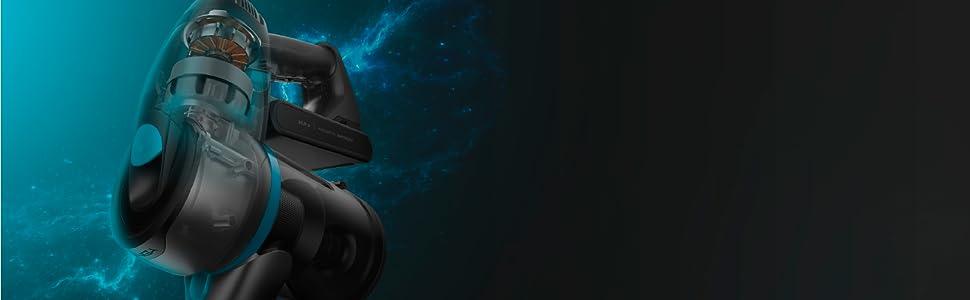 Cecotec Aspirador Escoba Conga Rockstar 500 X-Treme. Aspirador Vertical, Escoba y de Mano, Motor Digital brushless, 430 Potencia, 24 Kpa de succión, 65 min autonomía ...