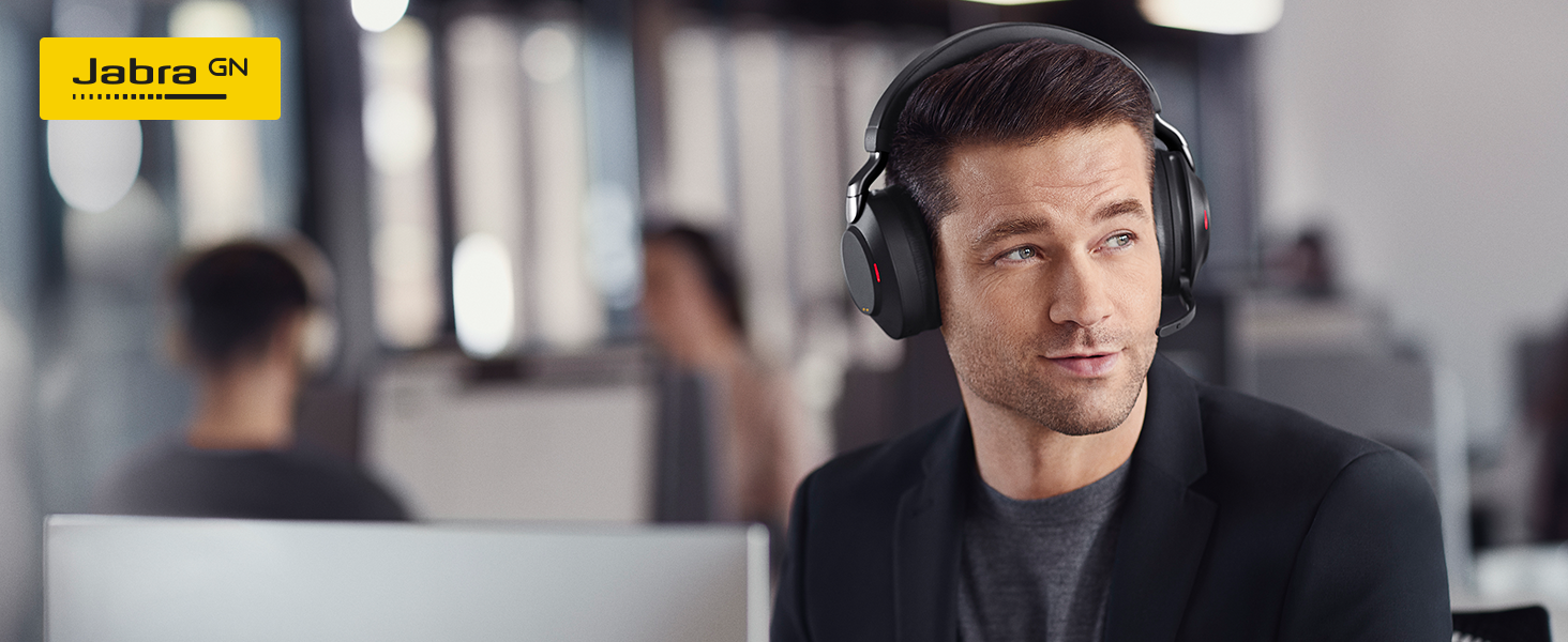 Jabra Evolve2 85 is our most advanced professional headset ever.