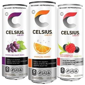 CELSIUS, ENERGY, ENERGY DRINKS, HEALTHY ENERGY