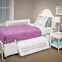 bed rail that swings down