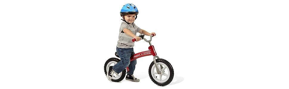 Amazon Com Radio Flyer Glide N Go Balance Bike With Air Tires Toys