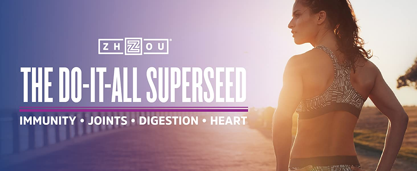 Black Seed Oil by Zhou- The do it all superseed for immunity, joints, digestion and heart health.