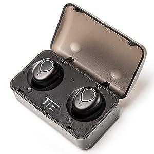 Auricular TIE Titania Bluetooth con base de energía