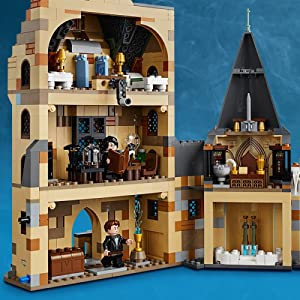 Lego Harry Potter And The Goblet Of Fire Hogwarts Clock Tower 75948 Harry Potter Gift And Playset With Minifigures Ron Weasley Hermione Granger And