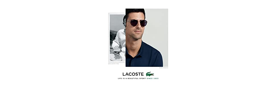 59e343f739e Lacoste Men s L102snd Metal Oval Novak Djokovic Capsule Collection ...