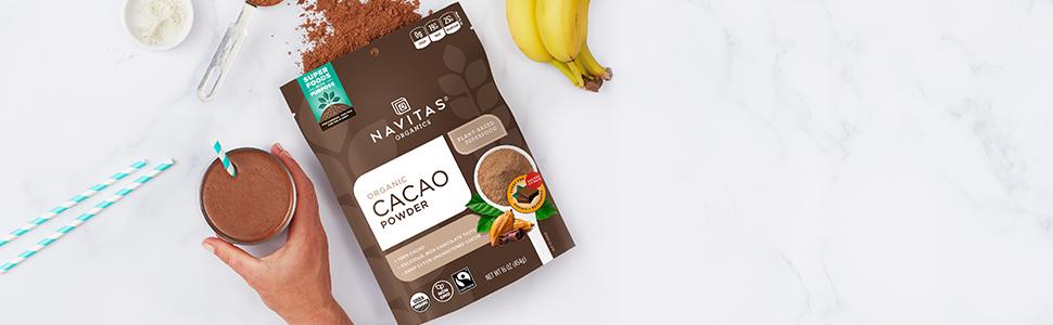 Cacao Powder Header