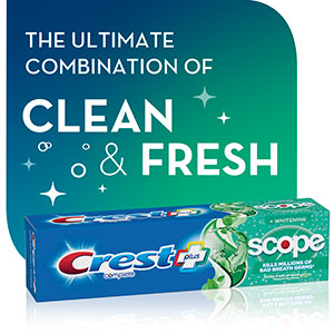 The ultimate combination of clean & fresh