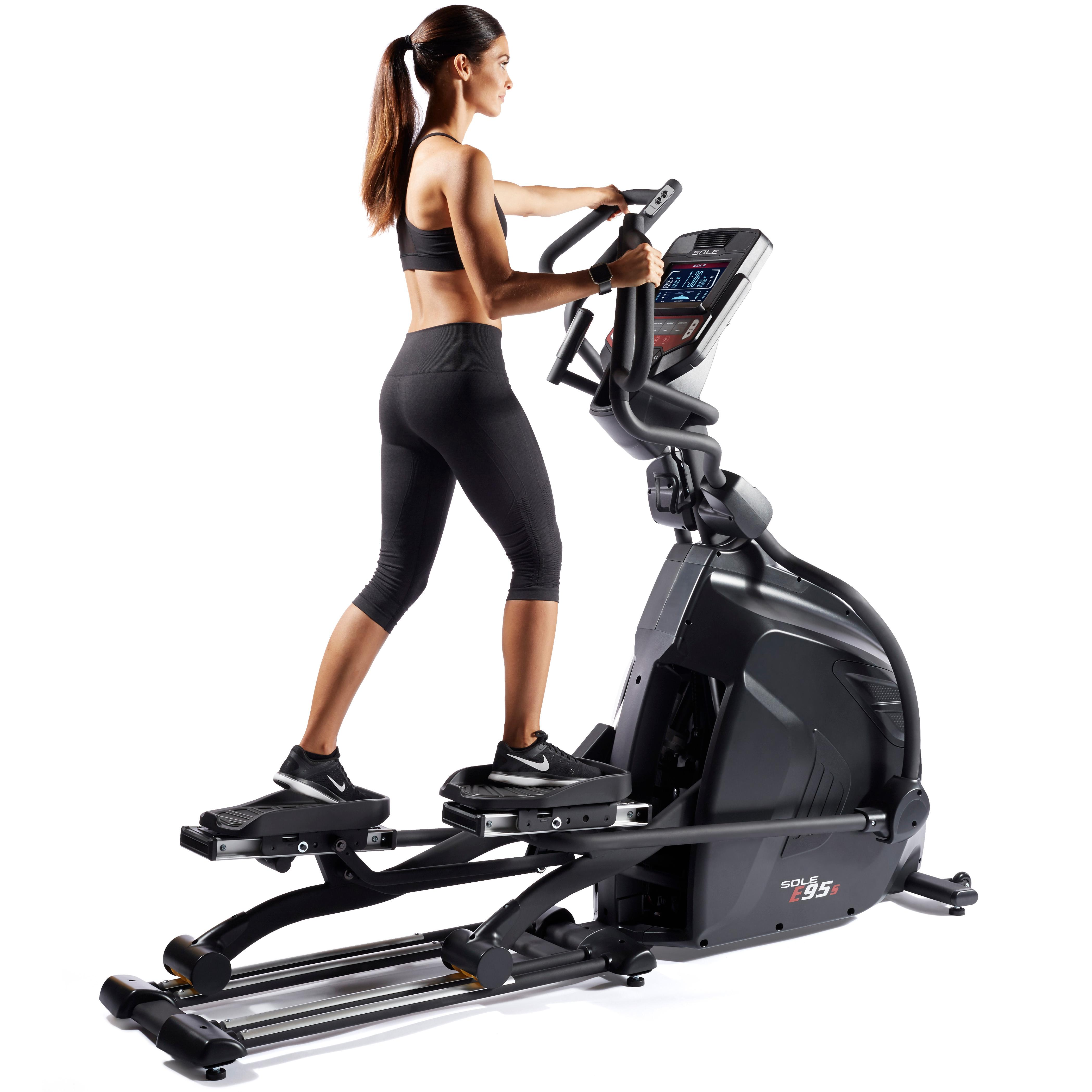 SOLE Fitness E95S Elliptical Trainer With Adjustable