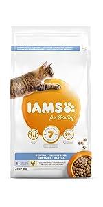 Iams karma dla kotów z problemami z zębami