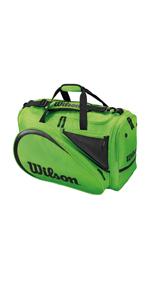 Wilson Padel Bag Paletero, 2 compartimentos principales, Blanco ...
