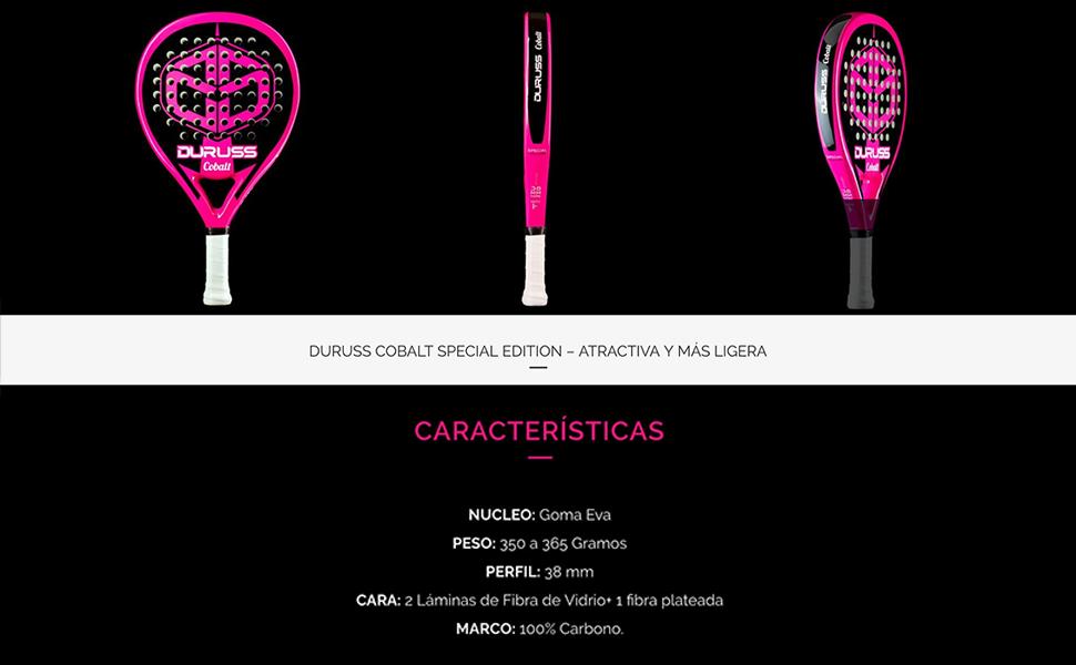 Duruss Profesional Cobalt Special Pala de Pádel, Adultos Unisex ...