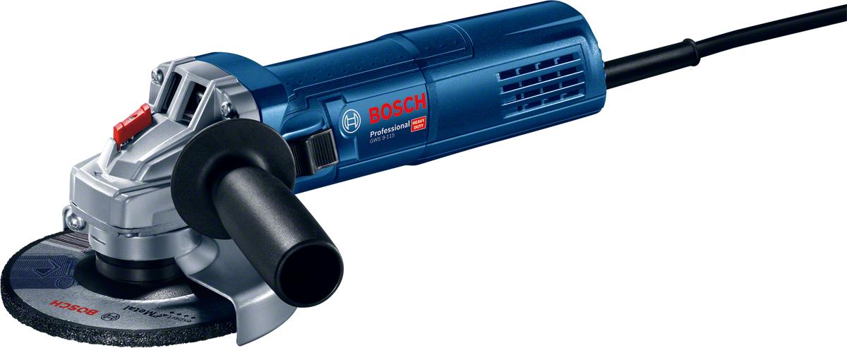 900 W, /Ø de meule : 115 mm, coffret Bosch Professional meuleuse angulaire GWS 9-115 S