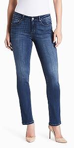 vintage america blues jeans; jeans for women; women's jeans; wonderland slim straight leg denim jean