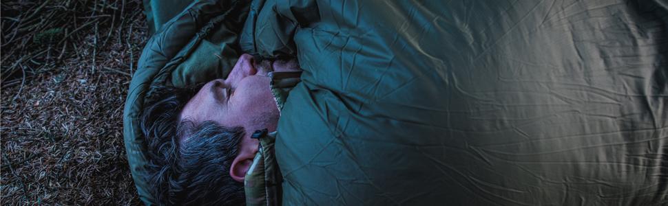 軍隊 ミリタリー イギリス スナグ 寝袋 シュラフ スリーピング バッグ 戦士 布団 暖かい