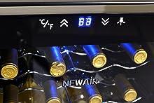 Amazon.com: NewAir AW-121E - Enfriador de vino ...