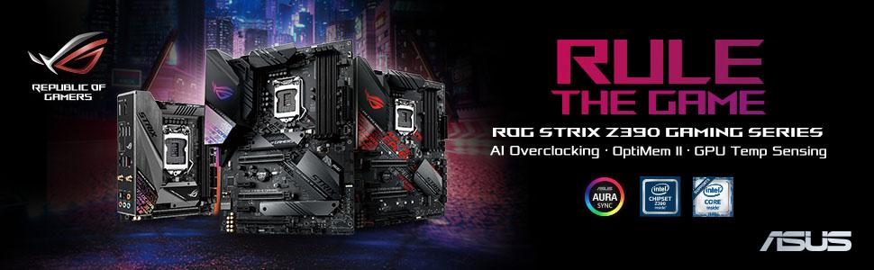 【ROG STRIX Z390-F GAMING】さまざまなチューニングオプションと広範な機器との互換性を備えたZ390搭載ATXマザーボード